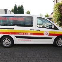Ambulanze Fahrzeugbeschriftung