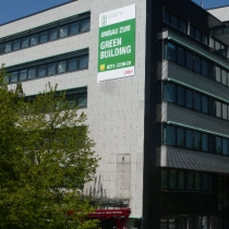 Fassadenbanner Düsseldorf