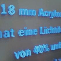 18-mm-Acryloxbuchstaben