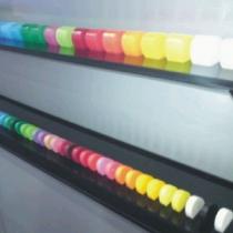 Acrylbuchstaben Farbmuster